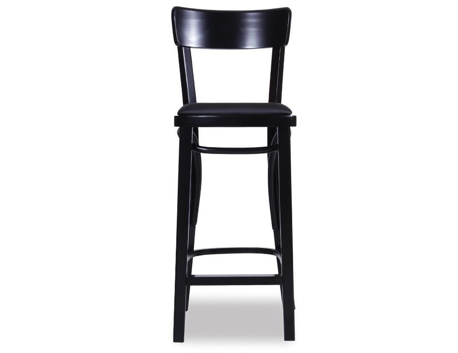 Bentwood Stool Black