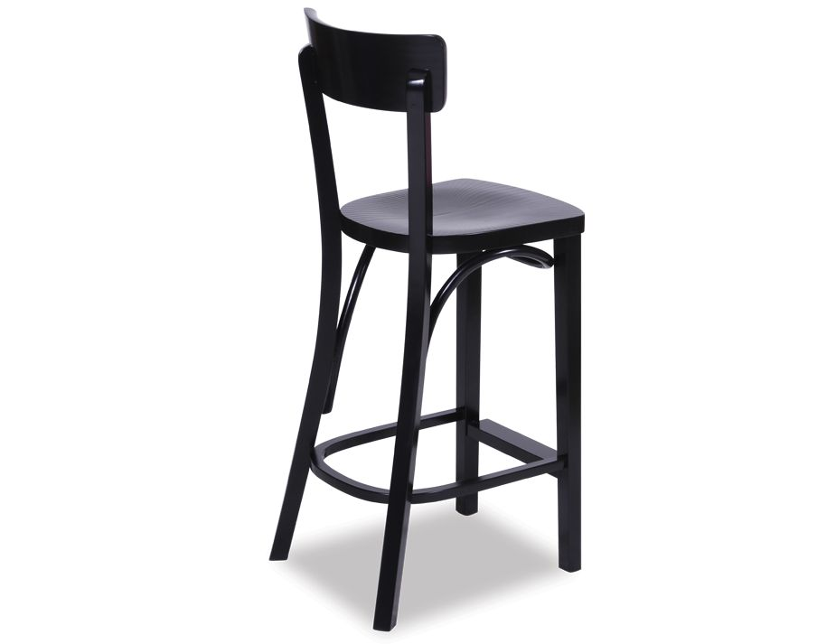 Black Retro Stool
