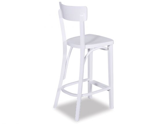 White Stool Look Back