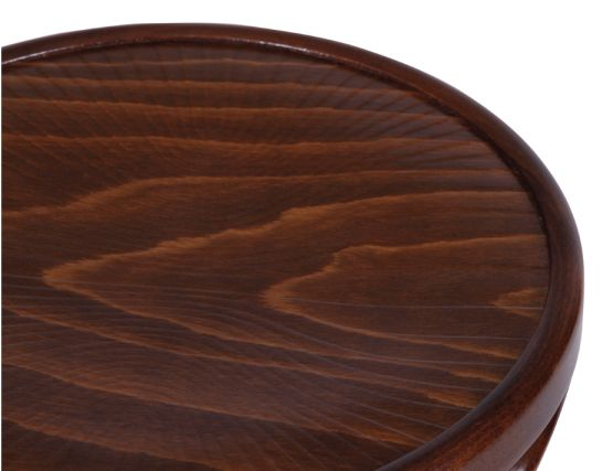 Bentwood Walnut Stool