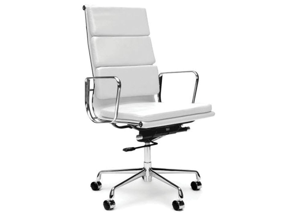 eames soft back leather office chair replica