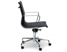 Replica Eames Management Office Chair Black Leather