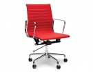 Red Leather Replica Eames Management Office Chair