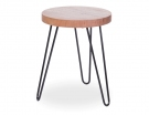 Bernie Vic Ash Round Kitchen Stool