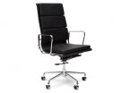 Eames Soft Pad High Back Leather Office Chair Replica