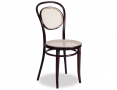 Original European Made Bentwood No 10 Chair w/ Cane Seat - Michael Thonet Designed - Wenge