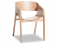 Merano Natural Oak Timber Dining Chair - TON CZ Original