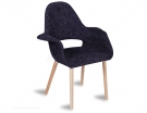 Charcoal Tweed Eames Organic Chair