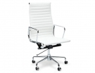 White Replica Eames Executive High Back Office Chair