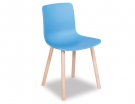 Premium Edition Blue Hal Wood Chair Replica Solid Wood