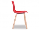 Premium Edition Red Hal Wood Chair Replica Solid Wood