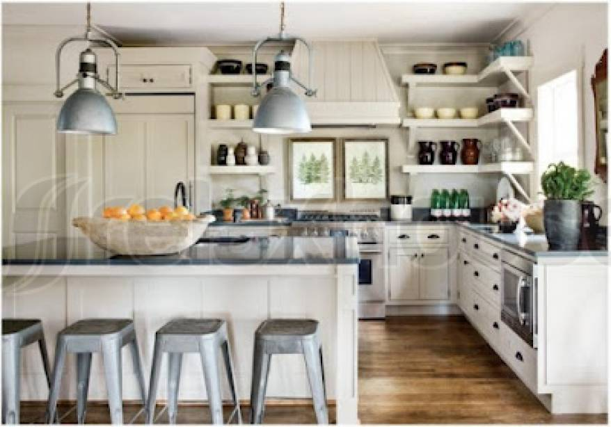 Modern day french country how to get the same style taste refinement in your home - Chic french country inspired home real comfort and elegance ...