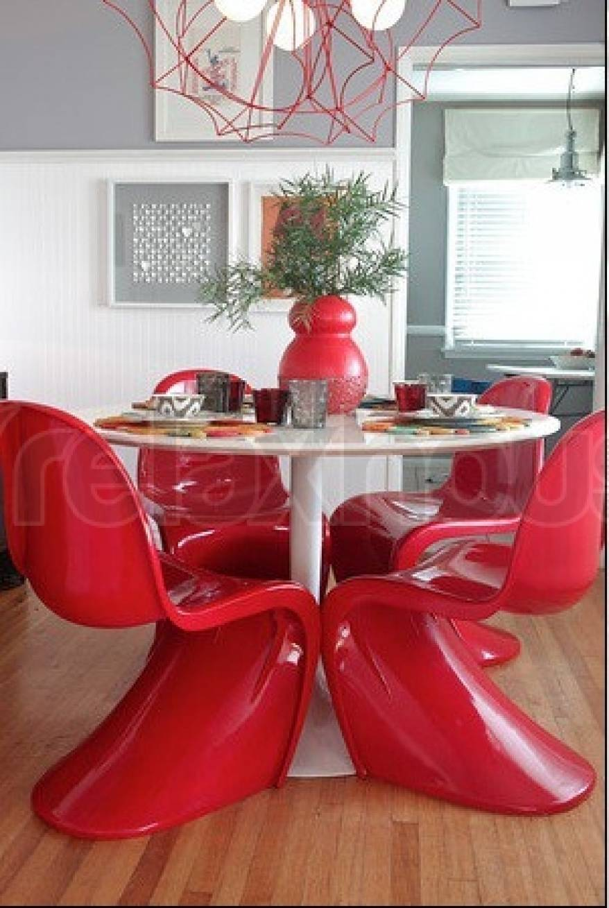 Panton Chair Red
